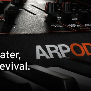40年の時を越え完全復刻、ARP Odyssey 予約受付開始!