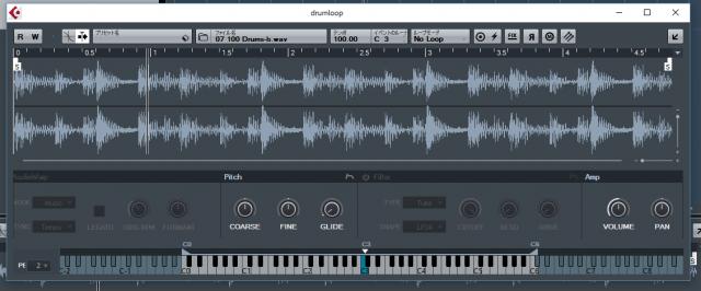 Cubase 9_sampler_track2